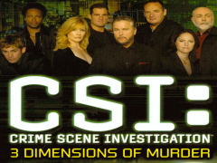 Press release e demo inglese per Csi: Omicidio in Tre Dimensioni